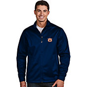 Antigua Men's Auburn Tigers Blue Performance Golf Jacket