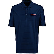 Antigua Men's UConn Huskies Blue Illusion Performance Polo