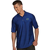 Antigua Men's Florida Gators Blue Illusion Polo