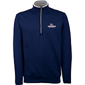 Antigua Men's Gonzaga Bulldogs Blue Long Sleeve Leader Pullover Shirt