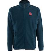 Antigua Men's Houston Cougars Navy Ice Full-Zip Jacket