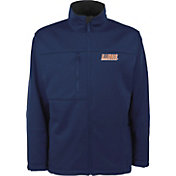 Antigua Men's Illinois Fighting Illini Blue Traverse Full-Zip Jacket