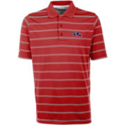 Antigua Men's Ole Miss Rebels Red Deluxe Performance Polo