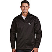 Antigua Men's Michigan State Spartans Black Performance Golf Jacket