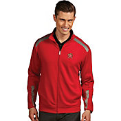 Antigua Men's Maryland Terrapins Red Full Zip Performance Flight Jacket