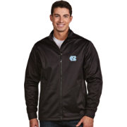 Antigua Men's North Carolina Tar Heels Black Performance Golf Jacket