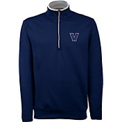 Antigua Men's Villanova Wildcats Navy Long Sleeve Leader Pullover Shirt