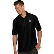 Antigua Men's Purdue Boilermakers Black Illusion Polo