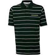 Antigua Men's Oregon Ducks Green Deluxe Performance Polo