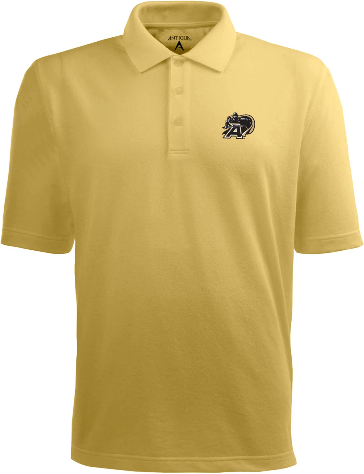 Antigua Men's Army Black Knights Gold Xtra-Lite Polo