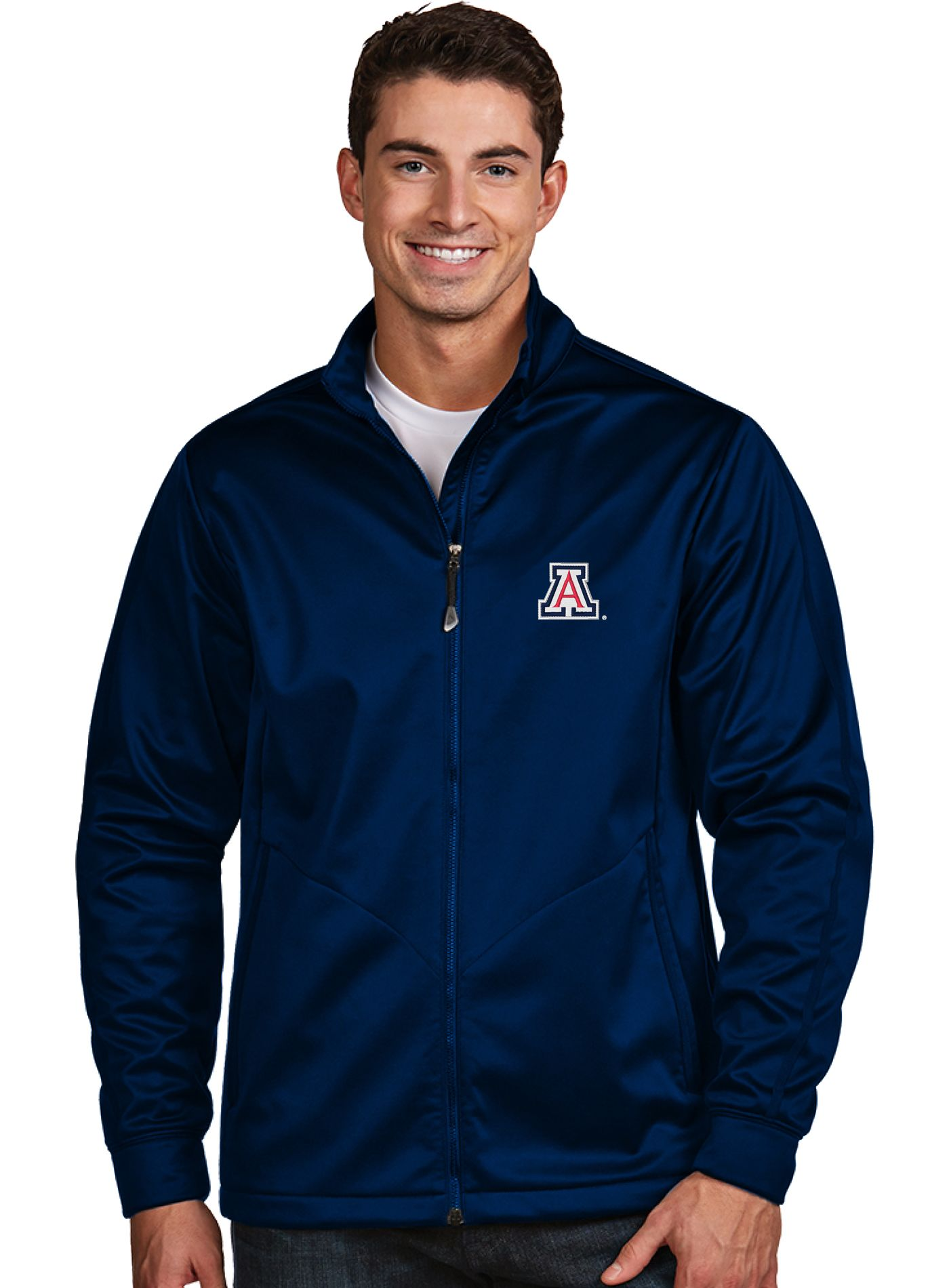 Antigua Men's Arizona Wildcats Navy Performance Golf Jacket