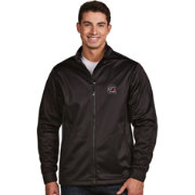 Antigua Men's South Carolina Gamecocks Black Performance Golf Jacket