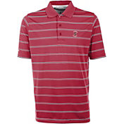 Antigua Men's Stanford Cardinal Deluxe Performance Cardinal Polo