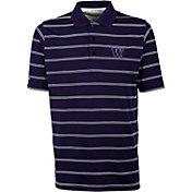 Antigua Men's Washington Huskies Purple Deluxe Performance Polo