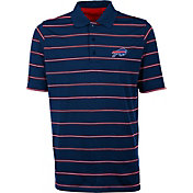 Antiqua Men's Buffalo Bills Deluxe Royal Polo