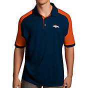 Antigua Men's Denver Broncos Century Navy Polo