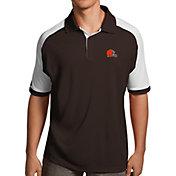 Antigua Men's Cleveland Browns Century Brown Polo
