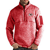 Antigua Men's Kansas City Chiefs Fortune Red Pullover Jacket