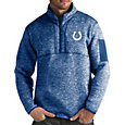Antigua Men's Indianapolis Colts Fortune Blue Pullover Jacket