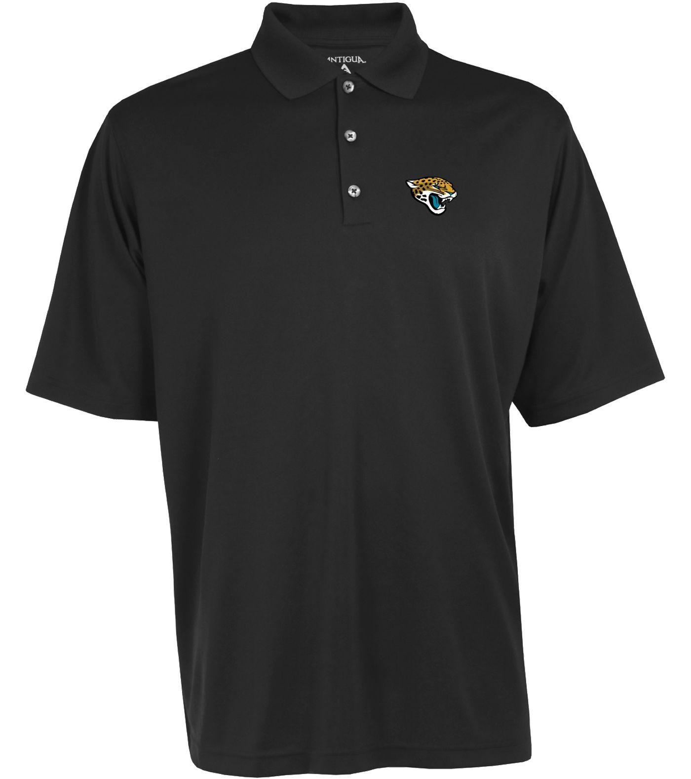 Antigua Men's Jacksonville Jaguars Exceed Polo