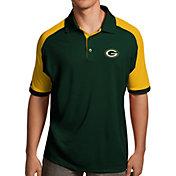 Antigua Men's Green Bay Packers Century Green Polo
