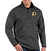 Antigua Men's Washington Redskins Fortune Black Pullover Jacket