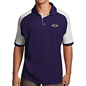 Antigua Men's Baltimore Ravens Century Purple Polo