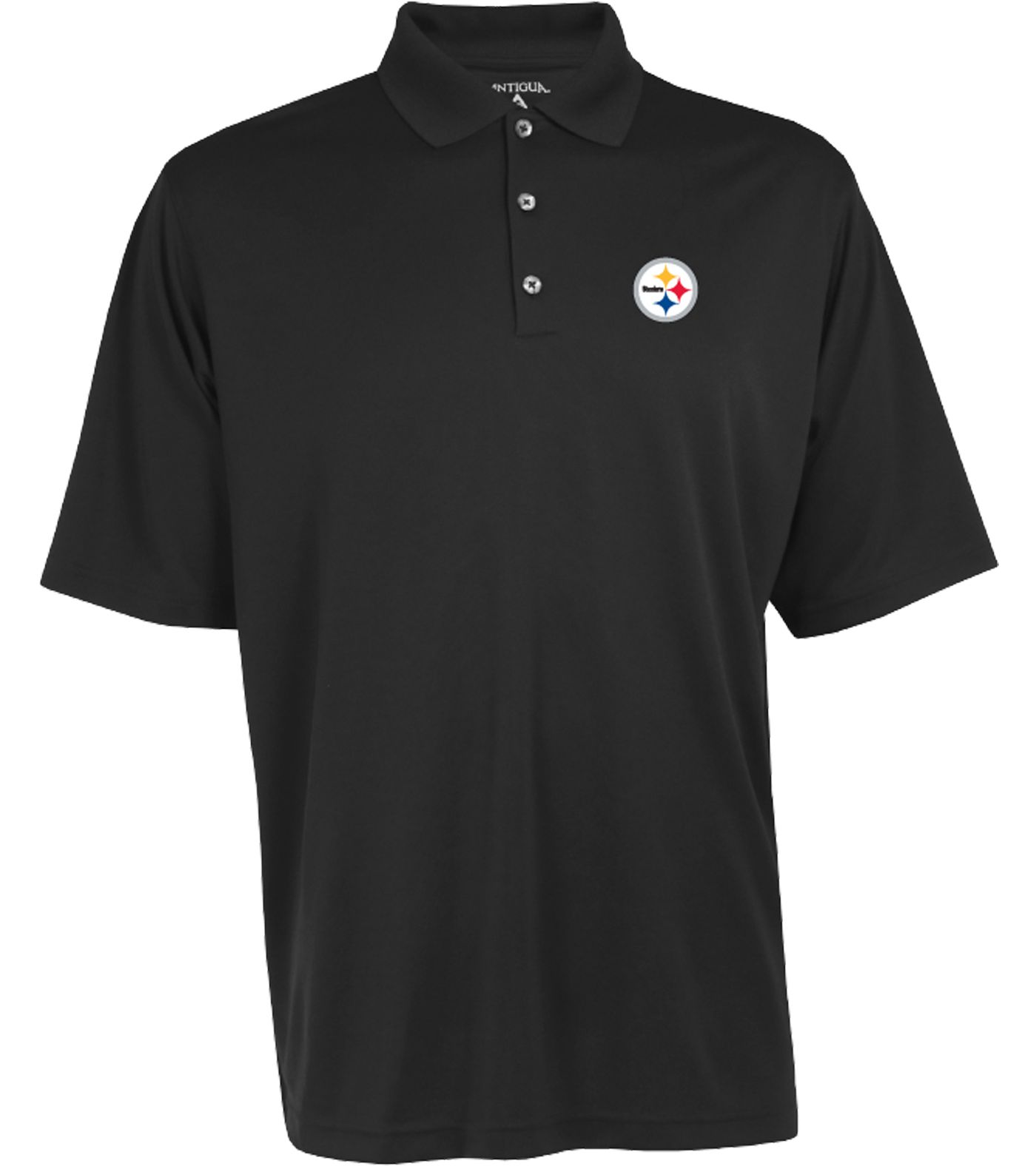Antigua Men's Pittsburgh Steelers Exceed Polo