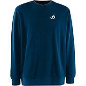 Antigua Men's Tampa Bay Lightning Blue Executive Crew Neck Sweater