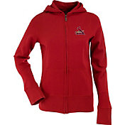 Antigua Women's St. Louis Cardinals Signature Red Full-Zip Hoodie