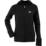 Antigua Women's San Francisco Giants Signature Black Full-Zip Hoodie