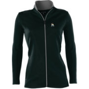Antigua Women's Miami Marlins Leader Black Full-Zip Jacket
