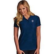 Antigua Women's San Diego Padres Illusion Navy Striped Performance Polo