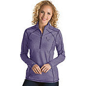 Antigua Women's Colorado Rockies Purple Tempo Quarter-Zip Pullover