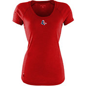 Antigua Women's Boston Red Sox Patriotic Logo Red Pep T-Shirt