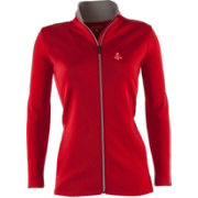 Antigua Women's Boston Red Sox Leader Red Full-Zip Jacket
