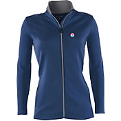 Antigua Women's Texas Rangers Leader Royal Full-Zip Jacket
