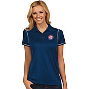 Antigua Women's Texas Rangers Icon Royal Performance Polo