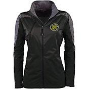 Antigua Women's Columbus Crew Black Discover Full-Zip Jacket