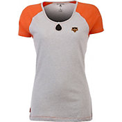Antigua Women's Houston Dynamo Crush Grey/Orange T-Shirt