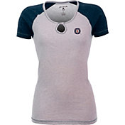 Antigua Women's Chicago Fire Crush Grey/Navy T-Shirt