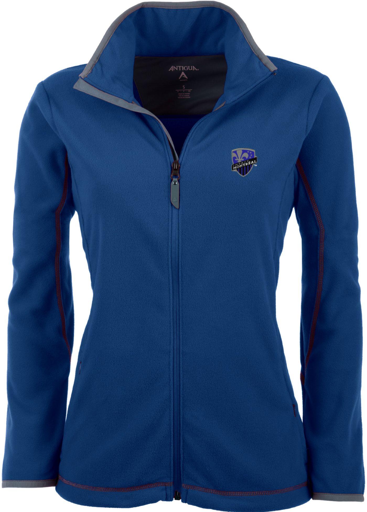 Antigua Women's Montreal Impact Royal Ice Full-Zip Fleece Jacket