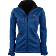 Antigua Women's Montreal Impact Traverse Red Soft-Shell Full-Zip Jacket
