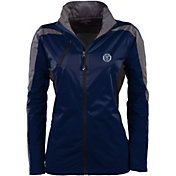 Antigua Women's New York City FC Navy Discover Full-Zip Jacket