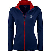 Antigua Women's New York City FC Navy Leader Full-Zip Jacket
