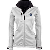 Antigua Women's New York City FC Traverse White Soft-Shell Full-Zip Jacket