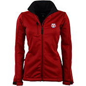 Antigua Women's New York Red Bulls Traverse Red Soft-Shell Full-Zip Jacket