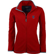 Antigua Women's Real Salt Lake Red Ice Full-Zip Fleece Jacket