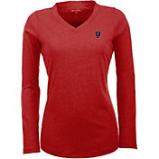 Antigua Women's Real Salt Lake Flip Red Shirt
