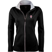 Antigua Women's Colorado Rapids Black Leader Full-Zip Jacket